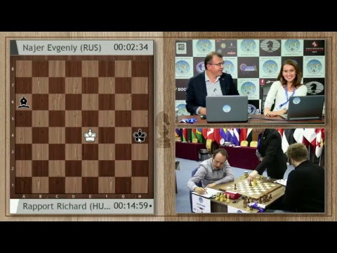 FIDE World Chess Cup 2017 Round 4 Game 1