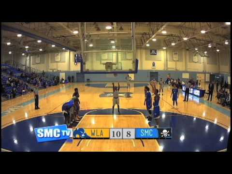 Santa Monica College Men's Basketball vs West LA College - January 18, 2017  (Full Game)