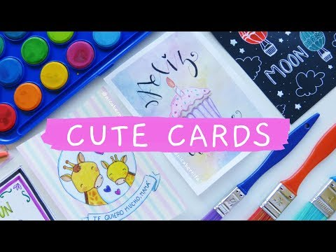 cute-cards-to-make-😍-mother's-day-card-✨-gifts-for-boyfriend-🎁-diy-birthday-card-ideas