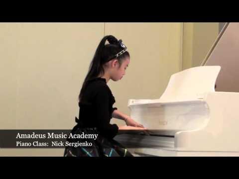 AMADEUS MUSIC ACADEMY -  Piano Class: NICK SERGIENKO