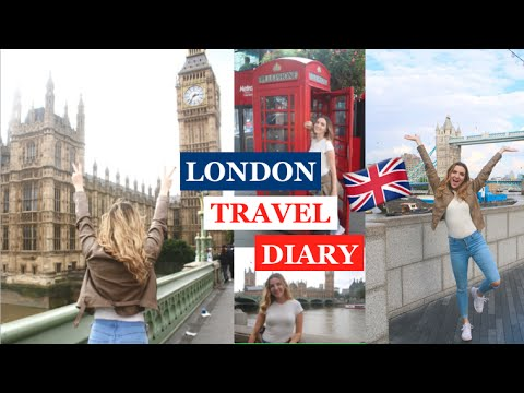 LONDON TRAVEL DIARY | Elizabeth Ashley