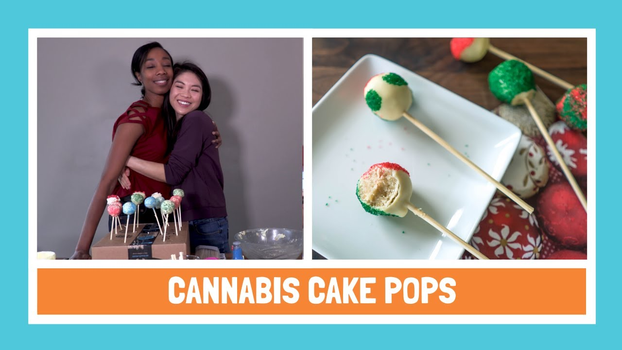 Cannabis Cake Pops