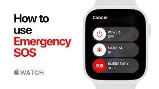 Apple Watch Series 4 - How to Use Emergency SOS - Apple