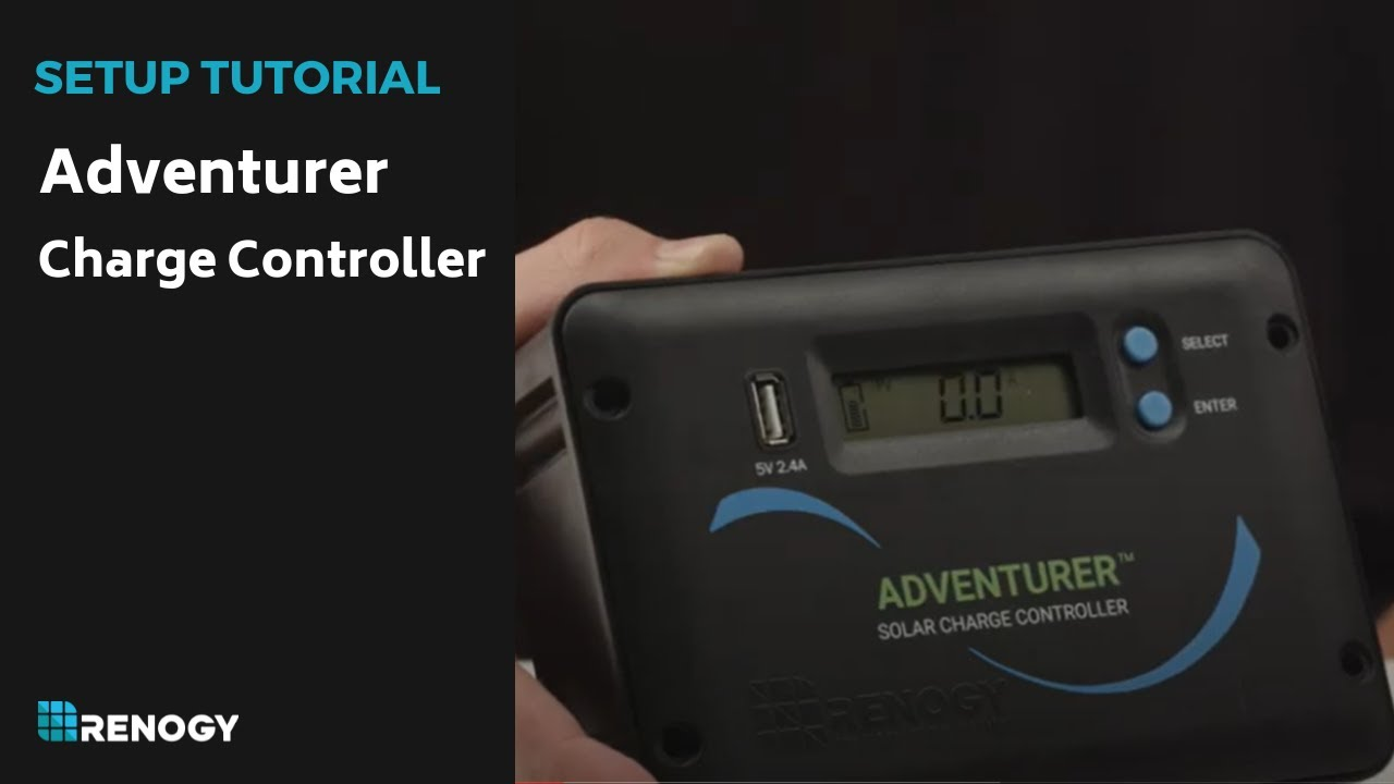 Renogy Charge Controller Adventurer Youtube Wiring Diagram