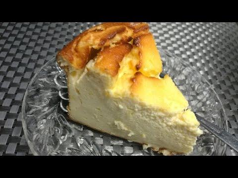 gâteau-au-fromage-blanc,-sans-farine,-sans-gluten,-sans-lactose-et-au-miel
