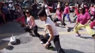 Zumba with Lily Linus - Flash Mob Zumba @ Pasar Minggu Bandar Sandakan