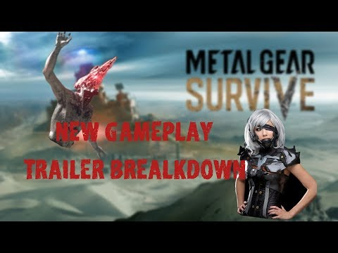 Metal Gear Survive Gameplay Breakdown