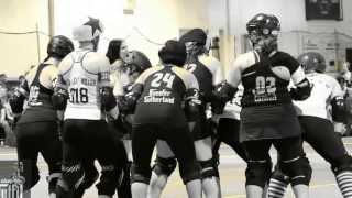 Chicago Outfit Roller Derby- 2013 Home Opener highlights