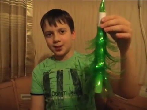 Елка из пластиковой бутылки смотреть в хорошем качестве