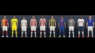 Pro Evolution Soccer 2016 2018 Güncel Transfer Yaması En iyisi 1