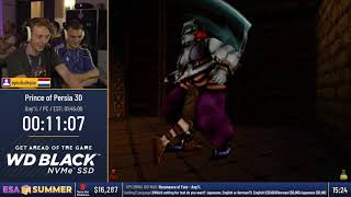 #ESASummer18 - Prince of Persia 3D [Any%] by epicdudeguy