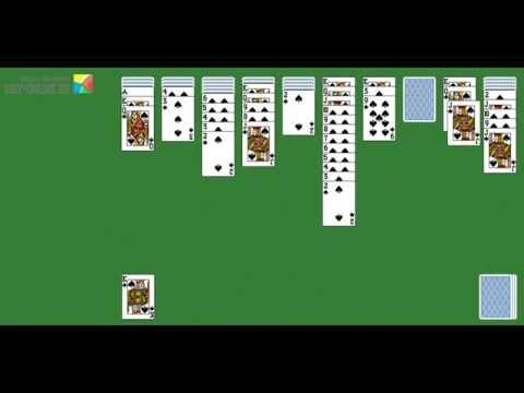 Пасьянс Паук играть онлайн, игра Пасьянсы