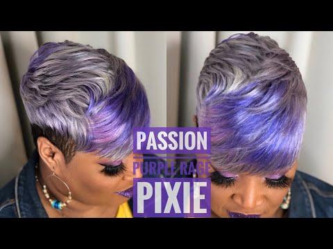 💜💜-passion-purple-rage-pixie-quickweave-tutorial-💜💜