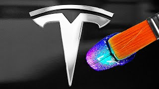 Download Destroying Peoples Cars, Then Giving Them a Custom Tesla!! 🚘🚗 (Satisfying) Mp3 and Videos