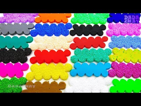 Учим цвета с Play Doh и Шариковым Пластилином | Учим флаги стран АМЕРИКИ|Развивающие видео для детей