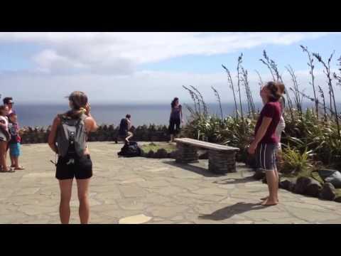 Circus Aotearoa visits Cape Reinga