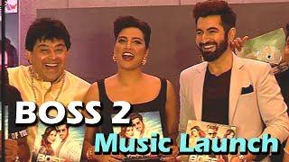 BOSS 2 | Music Launch | JEET | Subhashree | Jeet Gannguli | Baba Yadav | Nusraat Faria