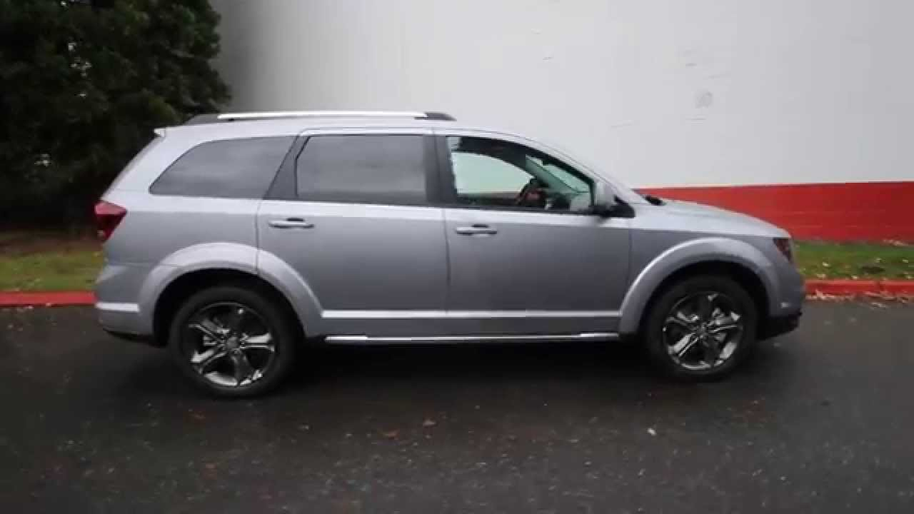 2015 Dodge Journey Crossroad >> 2015 Dodge Journey Crossroad | Silver | FT574870