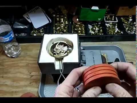 Pouring Molten Silver into Silicone Mold Rubber
