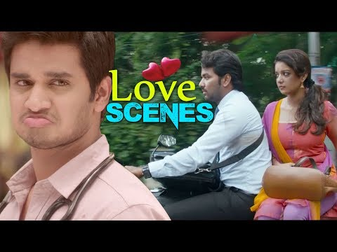 Love Scenes || Latest Telugu Movies Cute...