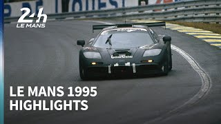 McLaren's shock Le Mans win - 1995 race highlights