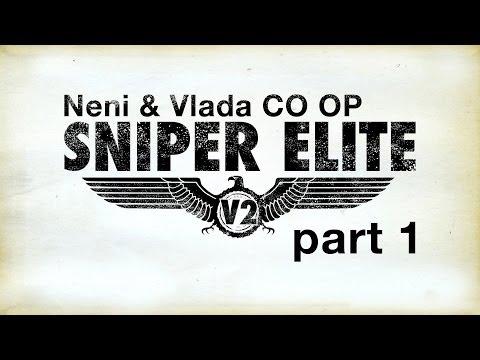 Sniper Elite V2 CO OP walkthrough Mission 1 - Schoneberg Streets