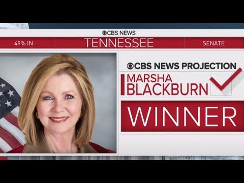Republican Marsha Blackburn wins Tennessee Senate race