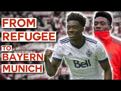 From a Refugee Camp to Bayern Munich's Hope For the Future | Alphonso Davies Bio (2019 Documentary)