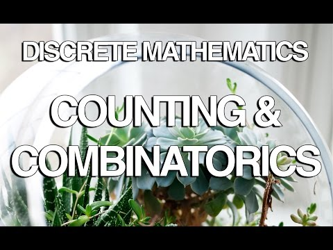 Counting and Combinatorics in Discrete Math Part 1