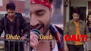 Dil Jida Tutda Ohnu Hi Pata Lagda | Jassi Gill | Fullscreen Status | Sad Song WhatsApp Lyric Status