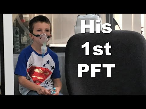 A Pulmonary Function Test with Our Nervous 6 Year Old
