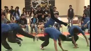 street dance and fictitious group vivacity 2012 in lnmiit