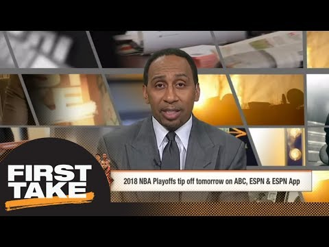 Stephen A. says Cavaliers and Warriors will meet in a five-game NBA Finals | First Take