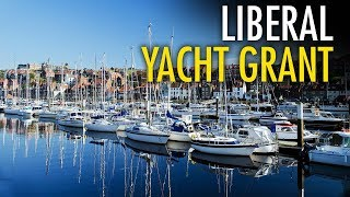 """Trudeau gives yacht club $200K, while attacking """"tax cheat"""" farmers"""