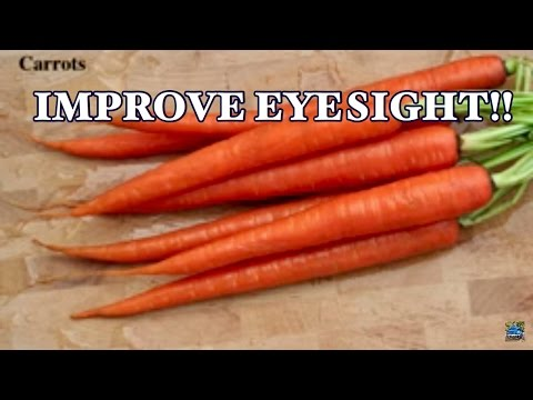 TOP 10 FOODS TO BOOST YOUR EYESIGHT 2018