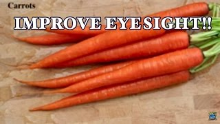 TOP 10 FOODS TO BOOST YOUR EYESIGHT 2017