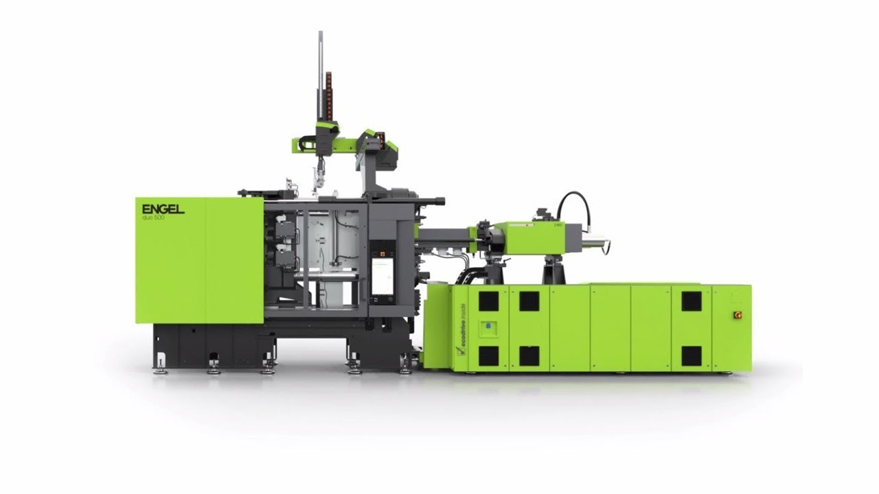 ▷ ENGEL duo large-scale injection moulding machines for