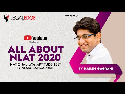 NLAT 2020 | All About NLAT 2020 by Harsh Gagrani | National