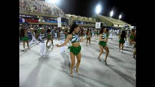 Rio Projekt Rio Carnaval 2019 - Imperio Serrano Ensaio Tecnico - Samba Dancers