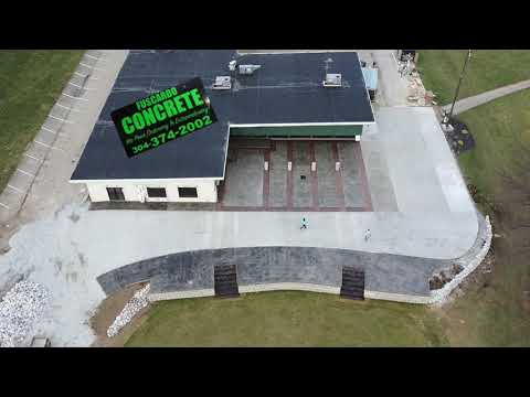 hqdefault - 12,000 SF of Concrete Parking lot, road, and stamped concrete #FuscardoConcrete - Concrete Floor Pros