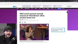 HBO's Watchmen Got Woke Went Broke, Shows Canceled After Creator QUITS