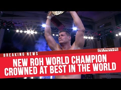 BREAKING NEWS: New ROH World Champion Crowned At Best In The World