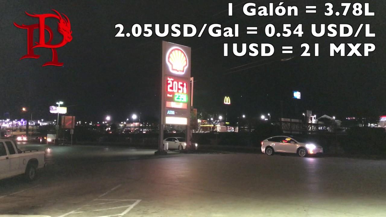 Con la presión aguda del gas el coche es conmutado a la gasolina