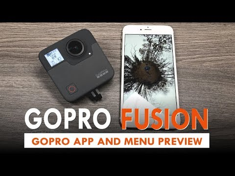 GoPro Fusion Mobile App and Settings