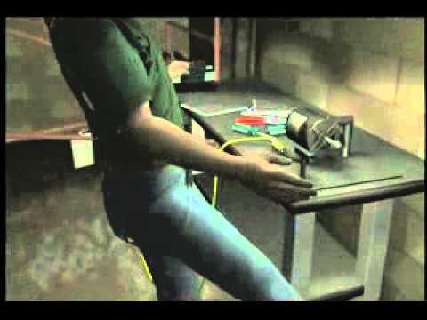 Machine Guarding: Workbench Grinder Wheel Explodes