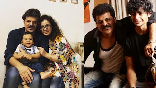 Ishaan Khatter's Step-Brother Vanraj turns one,father Rajesh Khatter celebrates Birthday with family