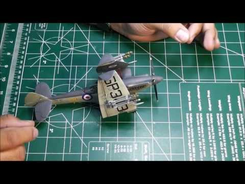 Airfix 1/48 Supermarine Seafire Final Update and Reveal