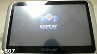 видео Как прошить или перепрошить GPS-навигатор Explay