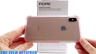 Incipio Reprieve [Sport] for iPhone Xs Max: 12 Ft Drop Protection, Clear Back, and Super Grippy!