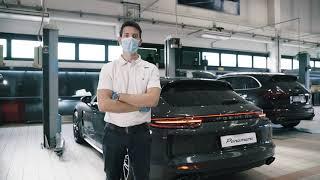 Centro Porsche Padova - Video Service - Sanificazione abitacolo